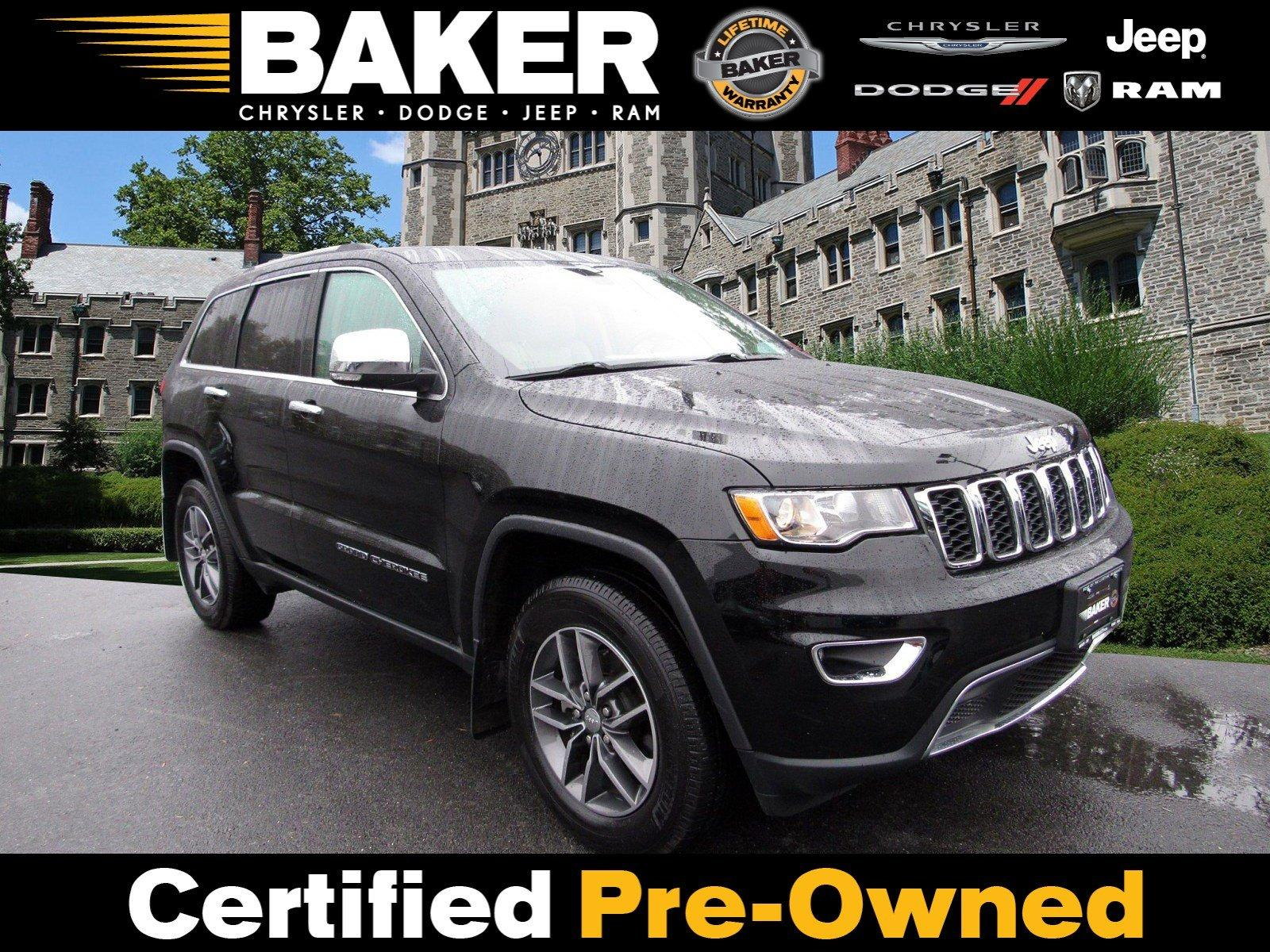 Used 2017 Jeep Grand Cherokee Limited for sale Sold at Victory Lotus in Princeton NJ 08540 1