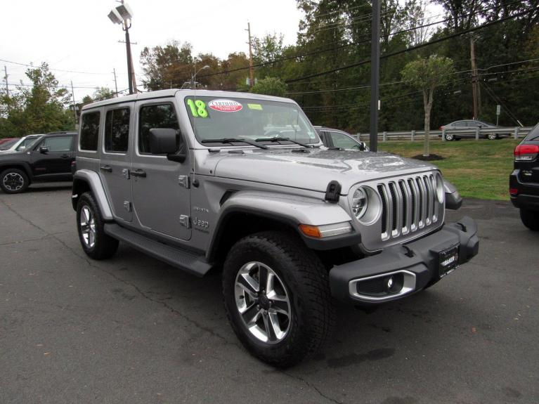 Used 2018 Jeep Wrangler Unlimited Sahara for sale Sold at Victory Lotus in Princeton NJ 08540 2