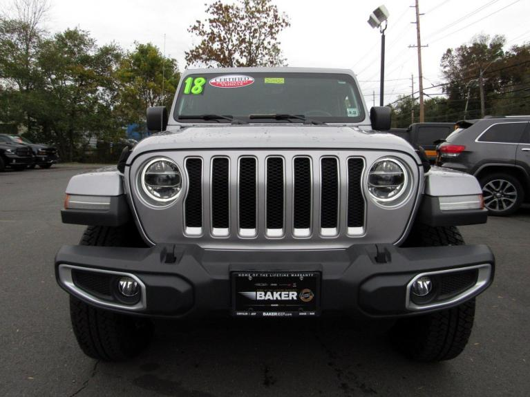 Used 2018 Jeep Wrangler Unlimited Sahara for sale Sold at Victory Lotus in Princeton NJ 08540 3