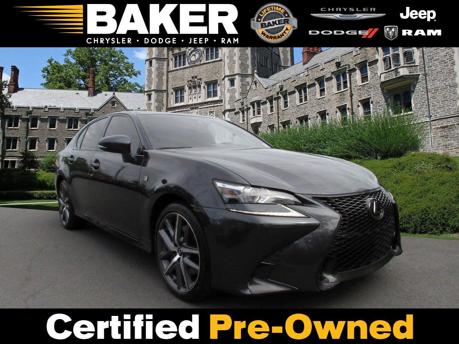 Used 2018 Lexus GS GS 350 F Sport for sale $34,495 at Victory Lotus in Princeton NJ 08540 1