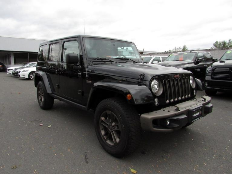 Used 2017 Jeep Wrangler Unlimited 75th Anniversary for sale Sold at Victory Lotus in Princeton NJ 08540 2