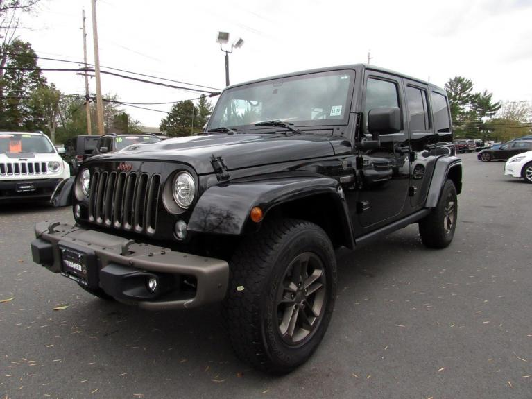 Used 2017 Jeep Wrangler Unlimited 75th Anniversary for sale Sold at Victory Lotus in Princeton NJ 08540 4