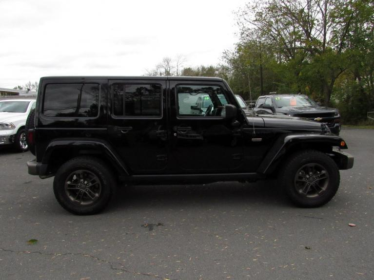Used 2017 Jeep Wrangler Unlimited 75th Anniversary for sale Sold at Victory Lotus in Princeton NJ 08540 8