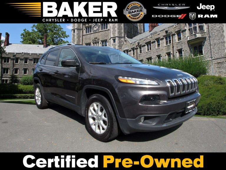 Used 2017 Jeep Cherokee Latitude for sale $18,495 at Victory Lotus in Princeton NJ 08540 1