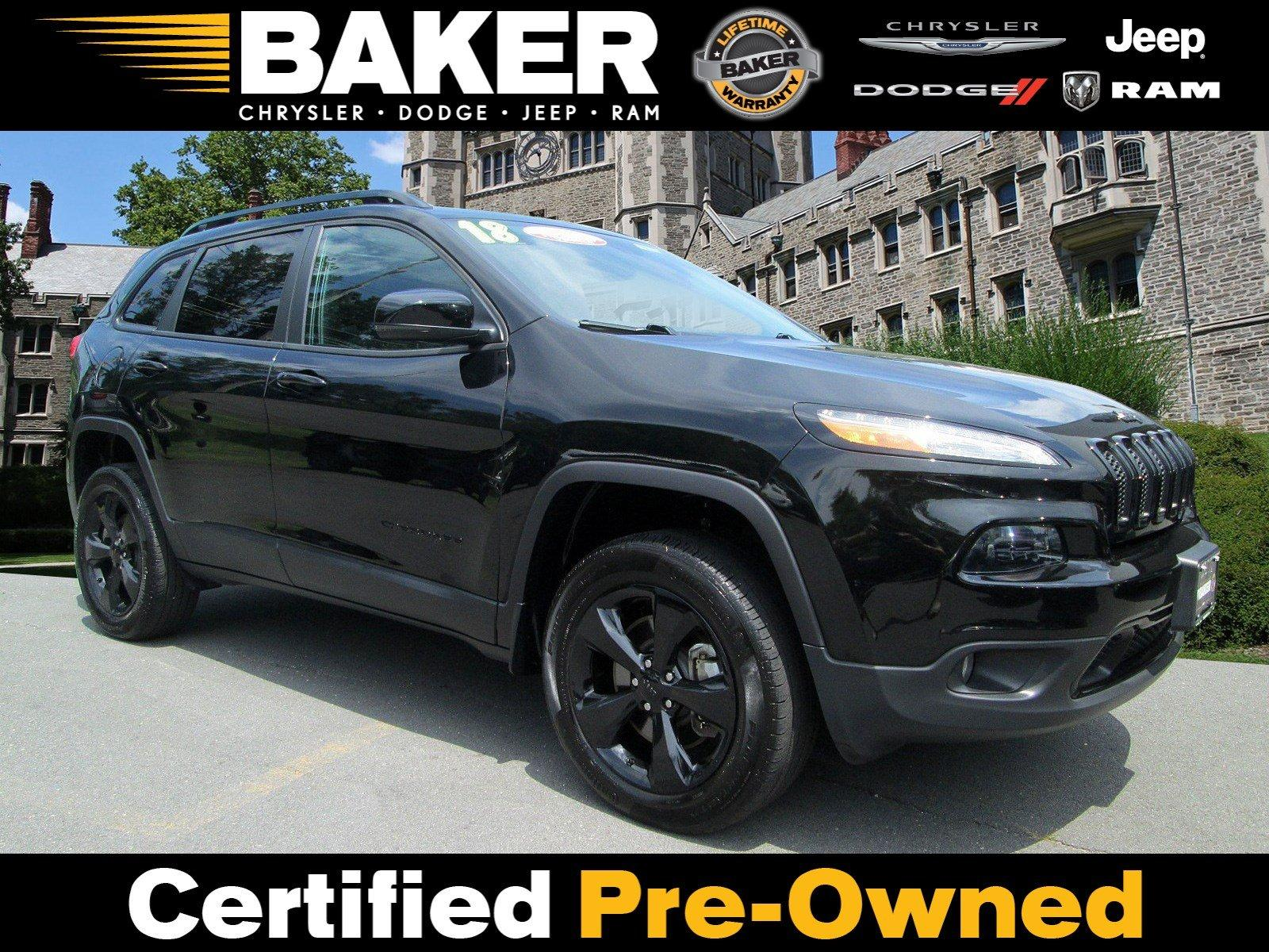 Used 2018 Jeep Cherokee Limited for sale Sold at Victory Lotus in Princeton NJ 08540 1