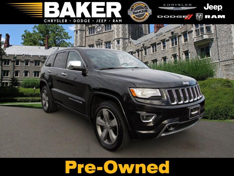Used 2014 Jeep Grand Cherokee Overland for sale Sold at Victory Lotus in Princeton NJ 08540 1