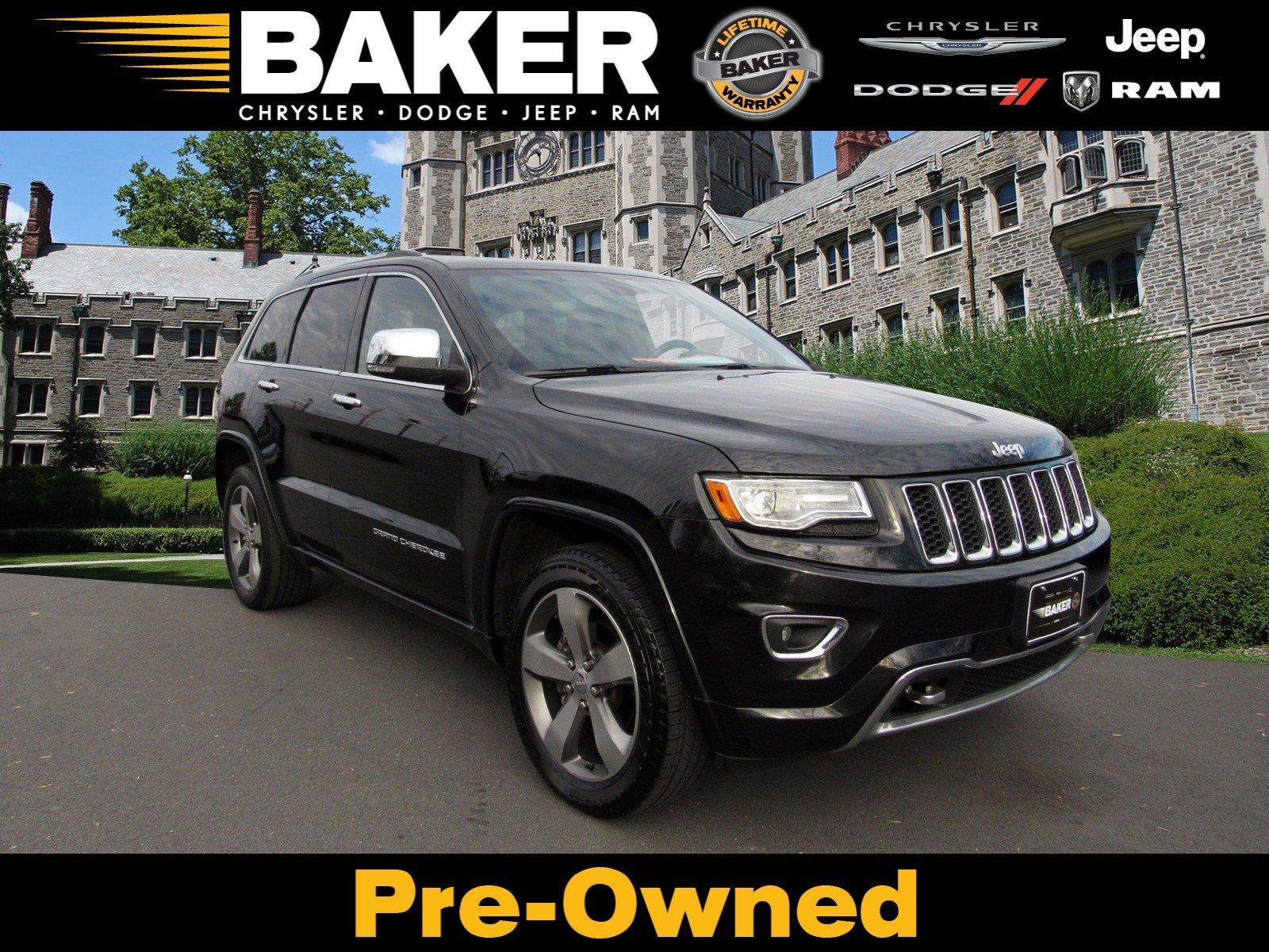 Used 2014 Jeep Grand Cherokee Overland For Sale 15 495 Victory Lotus Stock 528605