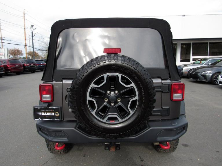 Used 2016 Jeep Wrangler Unlimited Rubicon Hard Rock for sale Sold at Victory Lotus in Princeton NJ 08540 6