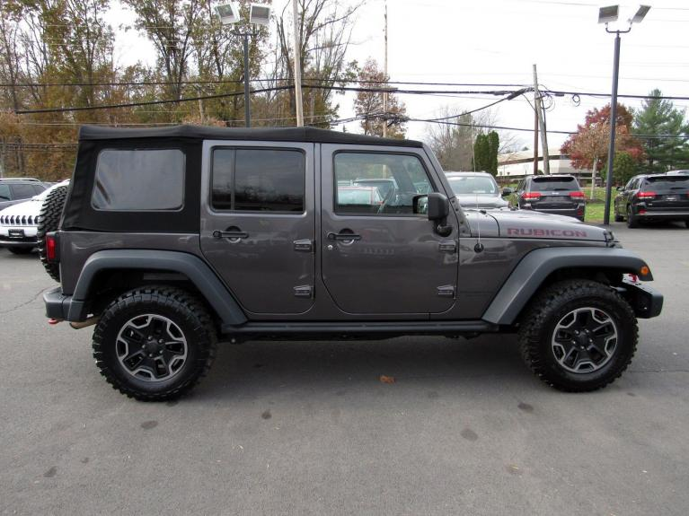Used 2016 Jeep Wrangler Unlimited Rubicon Hard Rock for sale Sold at Victory Lotus in Princeton NJ 08540 8