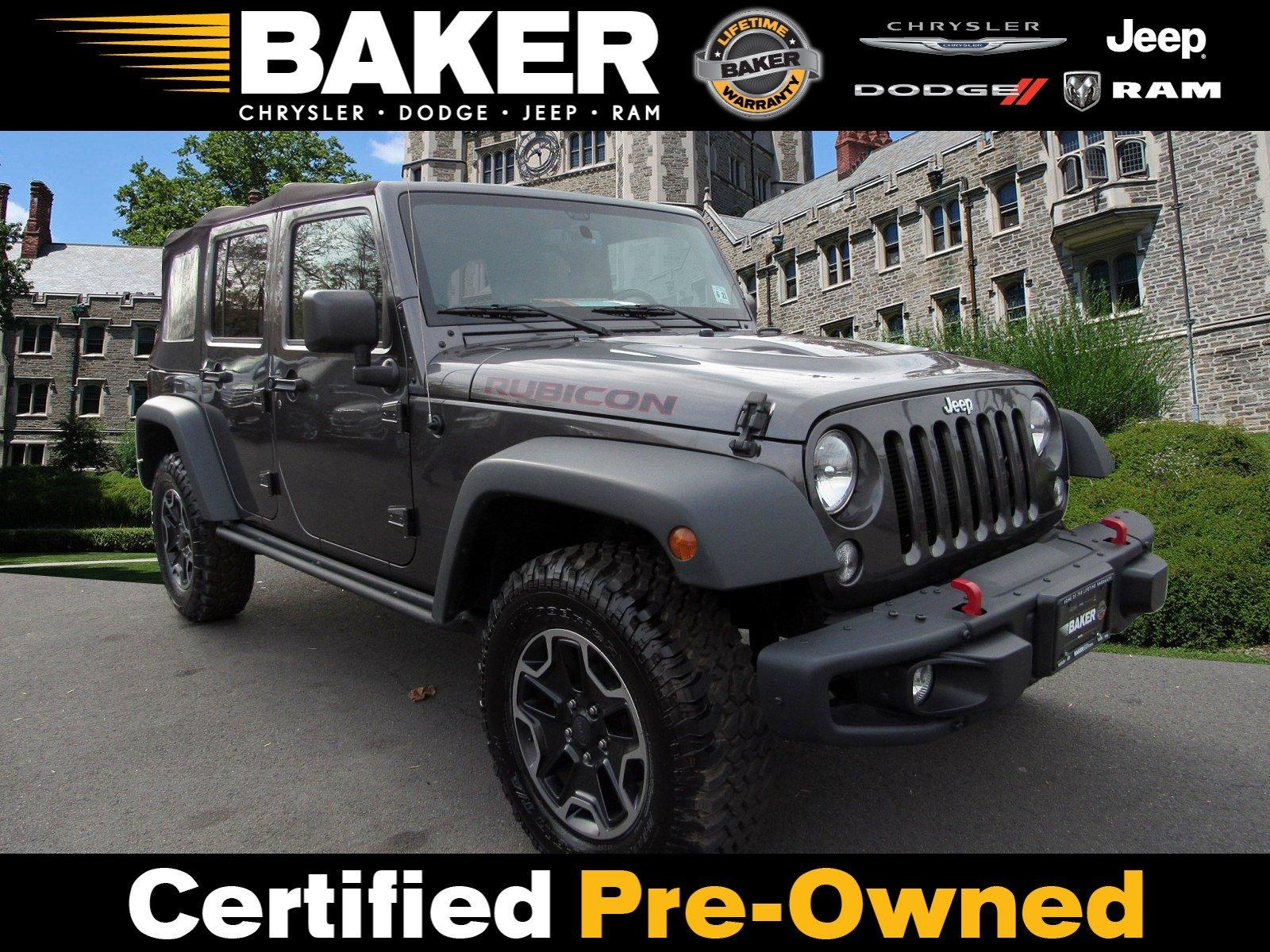 Used 2016 Jeep Wrangler Unlimited Rubicon Hard Rock for sale Sold at Victory Lotus in Princeton NJ 08540 1