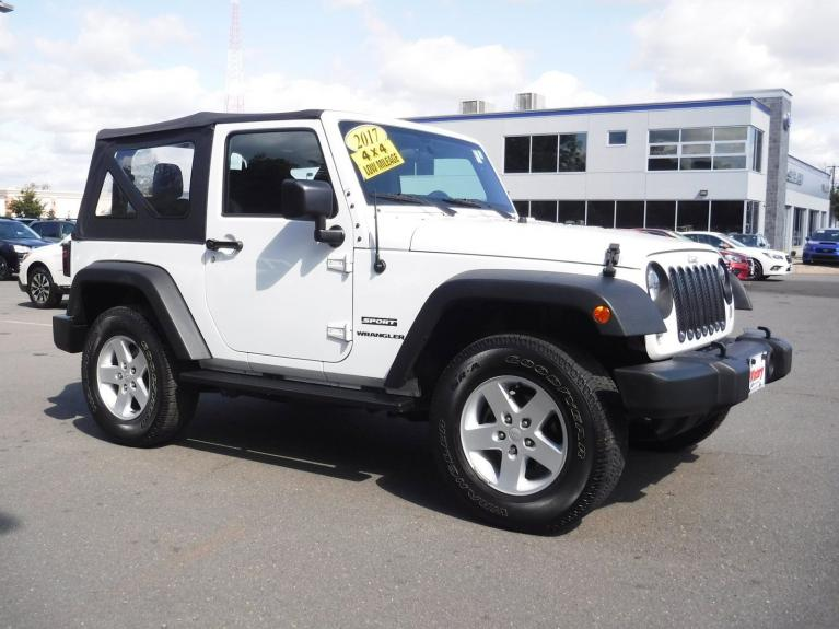 Used 2017 Jeep Wrangler Sport for sale Sold at Victory Lotus in Princeton NJ 08540 2