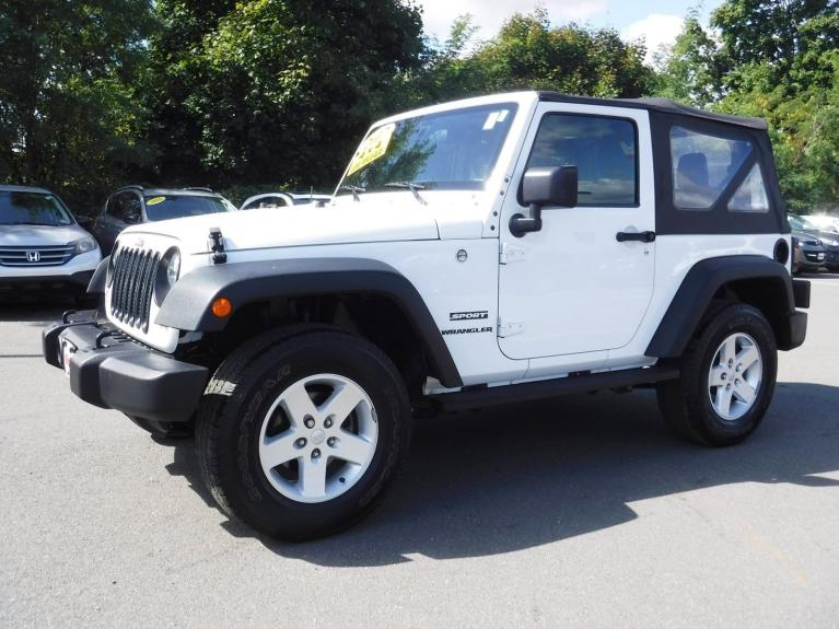 Used 2017 Jeep Wrangler Sport for sale Sold at Victory Lotus in Princeton NJ 08540 4