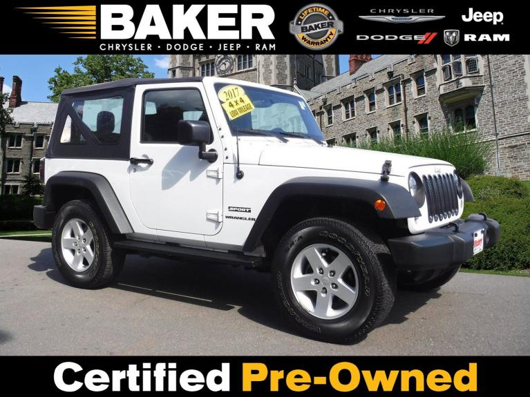 Used 2017 Jeep Wrangler Sport for sale Sold at Victory Lotus in Princeton NJ 08540 1