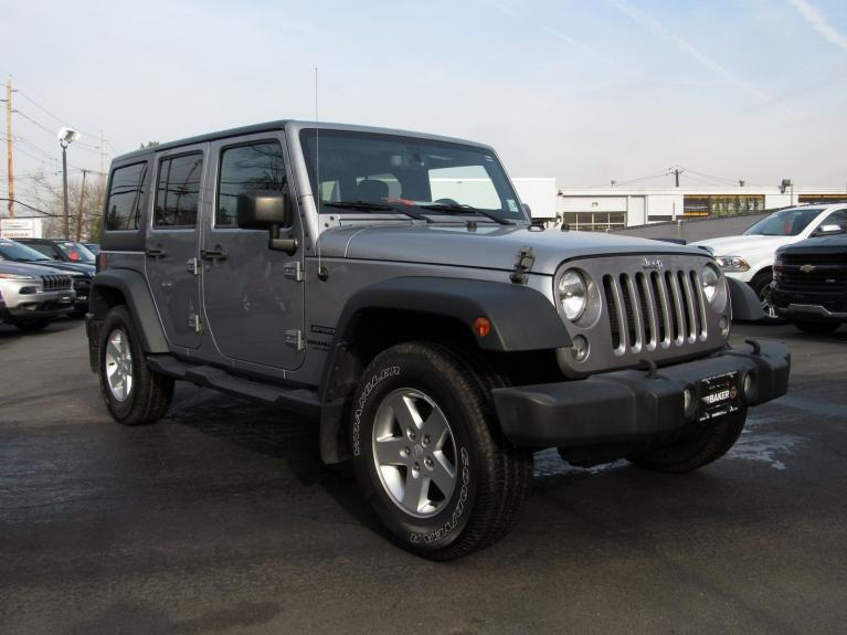 Used 2016 Jeep Wrangler Unlimited Sport for sale $26,495 at Victory Lotus in Princeton NJ 08540 2
