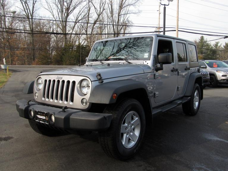 Used 2016 Jeep Wrangler Unlimited Sport for sale $26,495 at Victory Lotus in Princeton NJ 08540 4