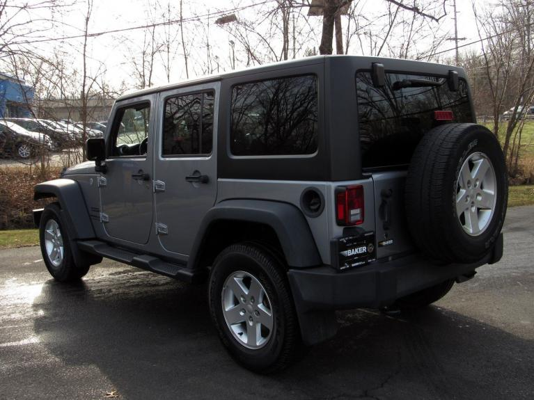 Used 2016 Jeep Wrangler Unlimited Sport for sale $26,495 at Victory Lotus in Princeton NJ 08540 5