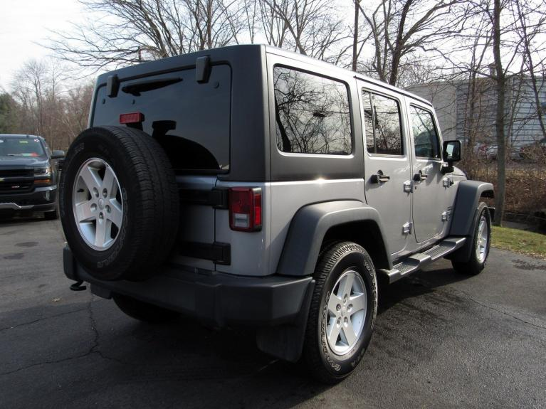 Used 2016 Jeep Wrangler Unlimited Sport for sale $26,495 at Victory Lotus in Princeton NJ 08540 7