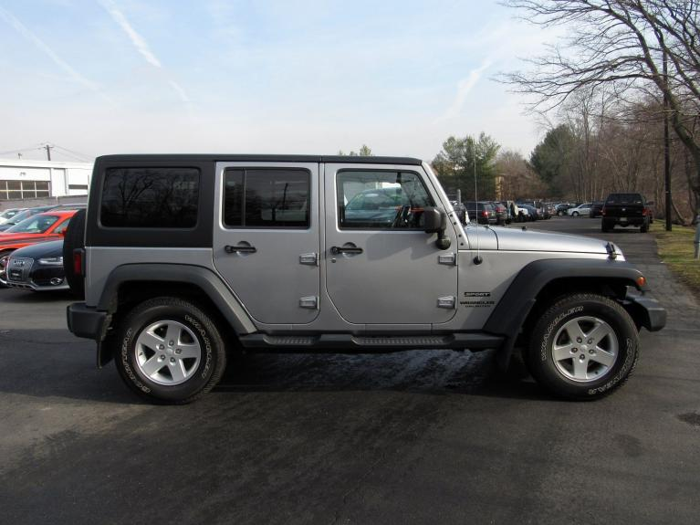 Used 2016 Jeep Wrangler Unlimited Sport for sale $26,495 at Victory Lotus in Princeton NJ 08540 8