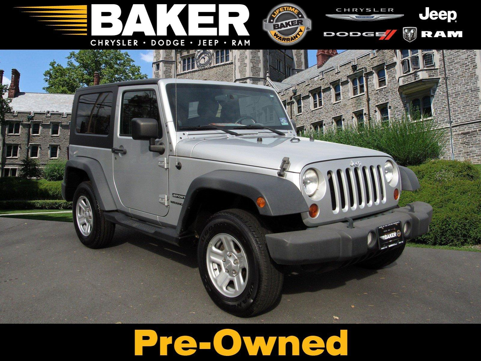 Used 2010 Jeep Wrangler Sport for sale Sold at Victory Lotus in Princeton NJ 08540 1