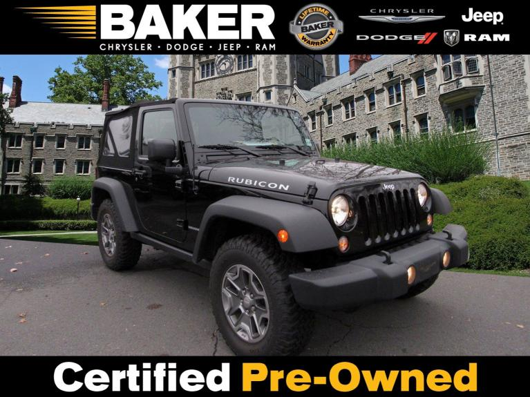 Used 2016 Jeep Wrangler Rubicon for sale Sold at Victory Lotus in Princeton NJ 08540 1