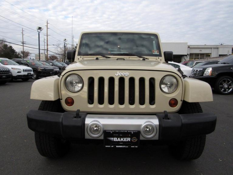 Used 2011 Jeep Wrangler Unlimited Sahara for sale $17,995 at Victory Lotus in Princeton NJ 08540 3