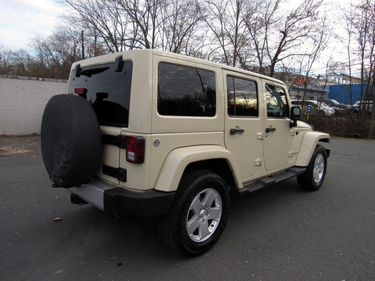 Used 2011 Jeep Wrangler Unlimited Sahara for sale $17,995 at Victory Lotus in Princeton NJ 08540 7