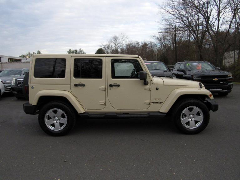 Used 2011 Jeep Wrangler Unlimited Sahara for sale $17,995 at Victory Lotus in Princeton NJ 08540 8