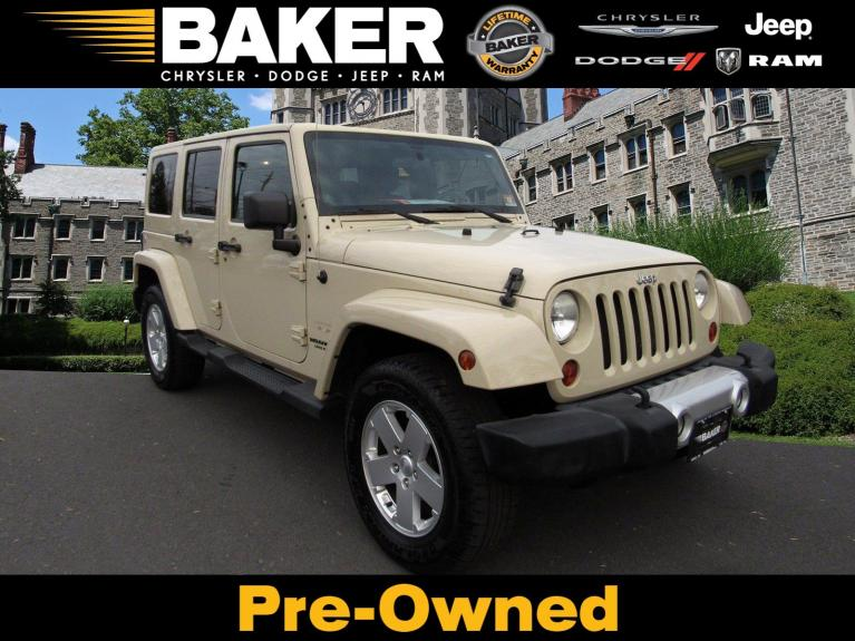 Used 2011 Jeep Wrangler Unlimited Sahara for sale $17,995 at Victory Lotus in Princeton NJ 08540 1