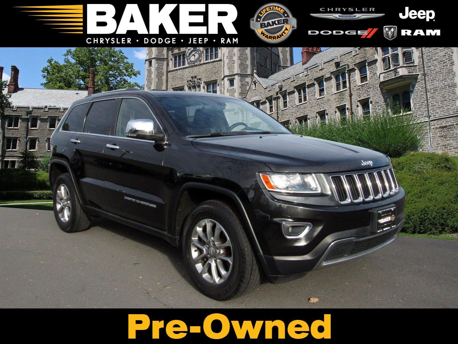 Used 2014 Jeep Grand Cherokee Limited for sale $17,495 at Victory Lotus in Princeton NJ 08540 1