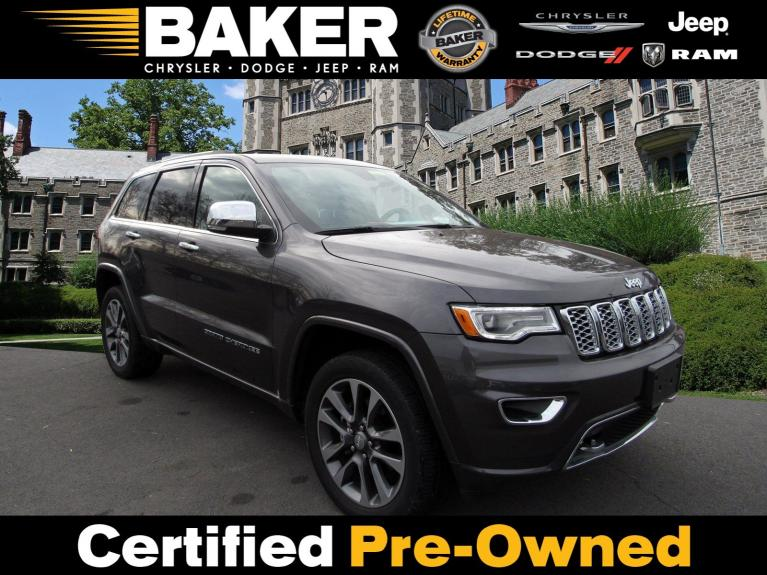 Used 2017 Jeep Grand Cherokee Overland for sale $33,995 at Victory Lotus in Princeton NJ 08540 1