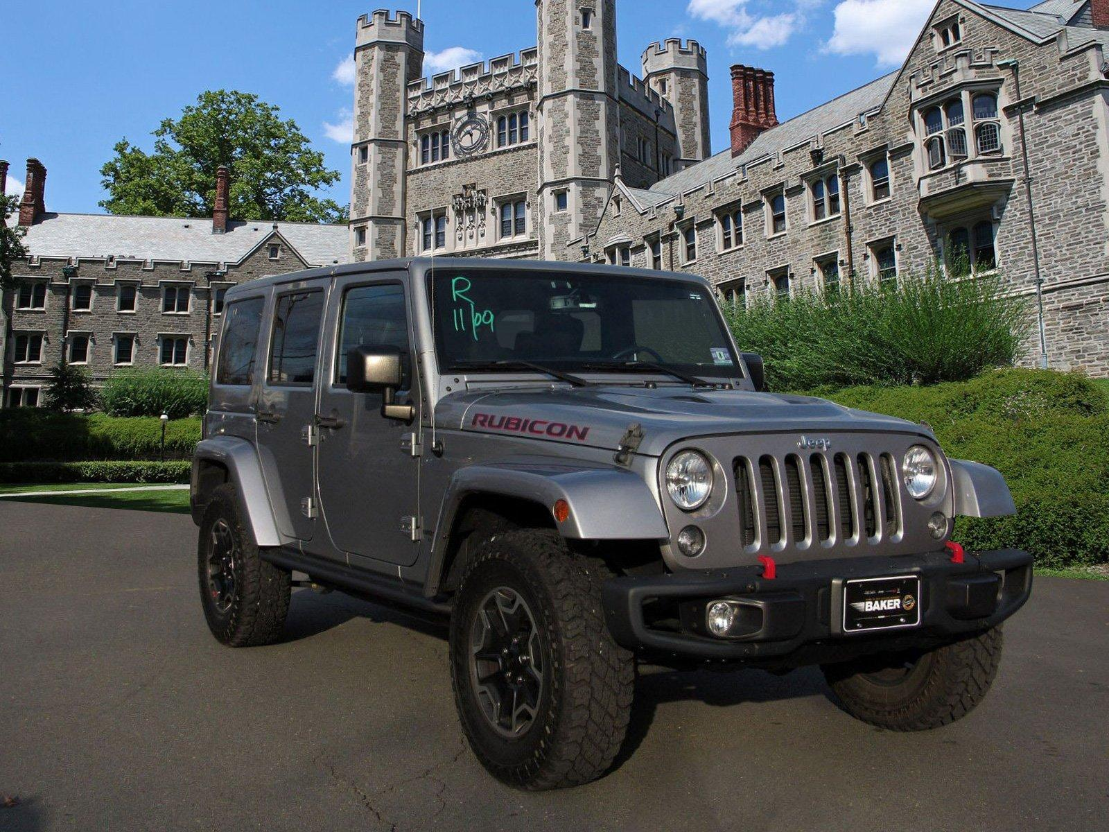 Used 2015 Jeep Wrangler Unlimited Rubicon Hard Rock for sale Sold at Victory Lotus in Princeton NJ 08540 1