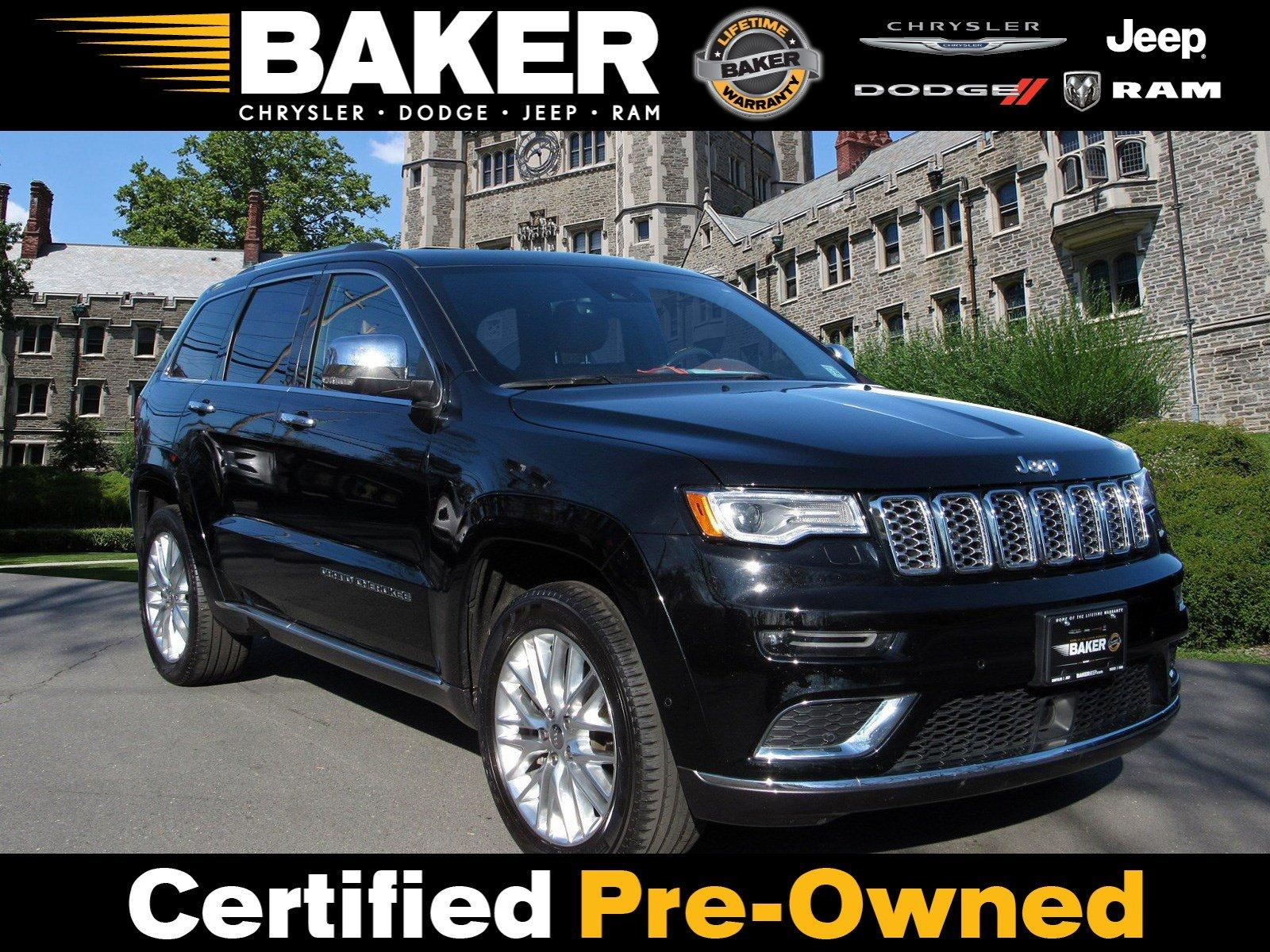 Used 2017 Jeep Grand Cherokee Summit for sale Sold at Victory Lotus in Princeton NJ 08540 1