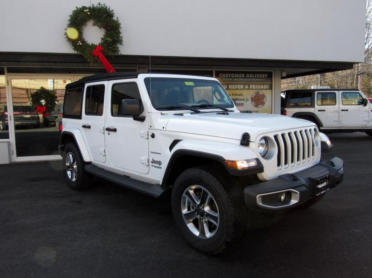 Used 2018 Jeep Wrangler Unlimited Sahara for sale $38,995 at Victory Lotus in Princeton NJ 08540 2
