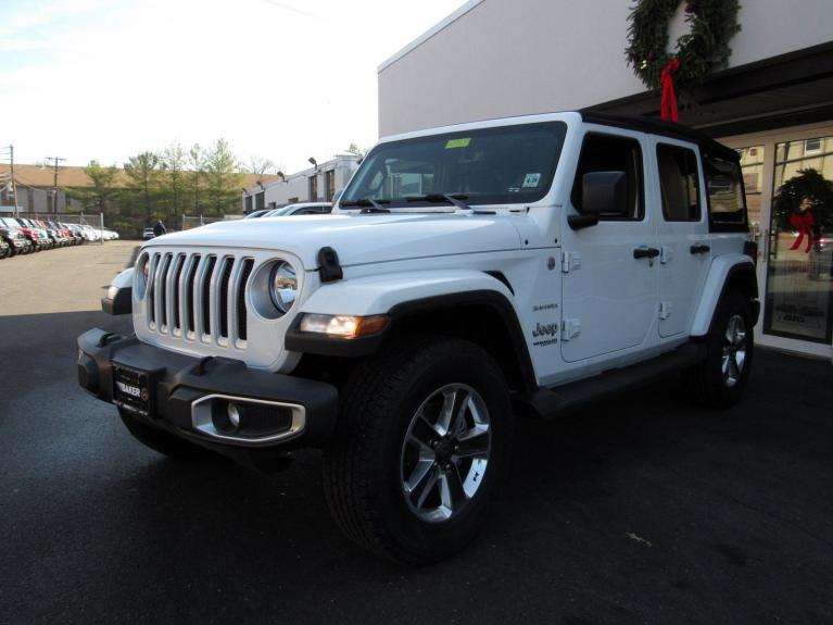Used 2018 Jeep Wrangler Unlimited Sahara for sale $38,995 at Victory Lotus in Princeton NJ 08540 4