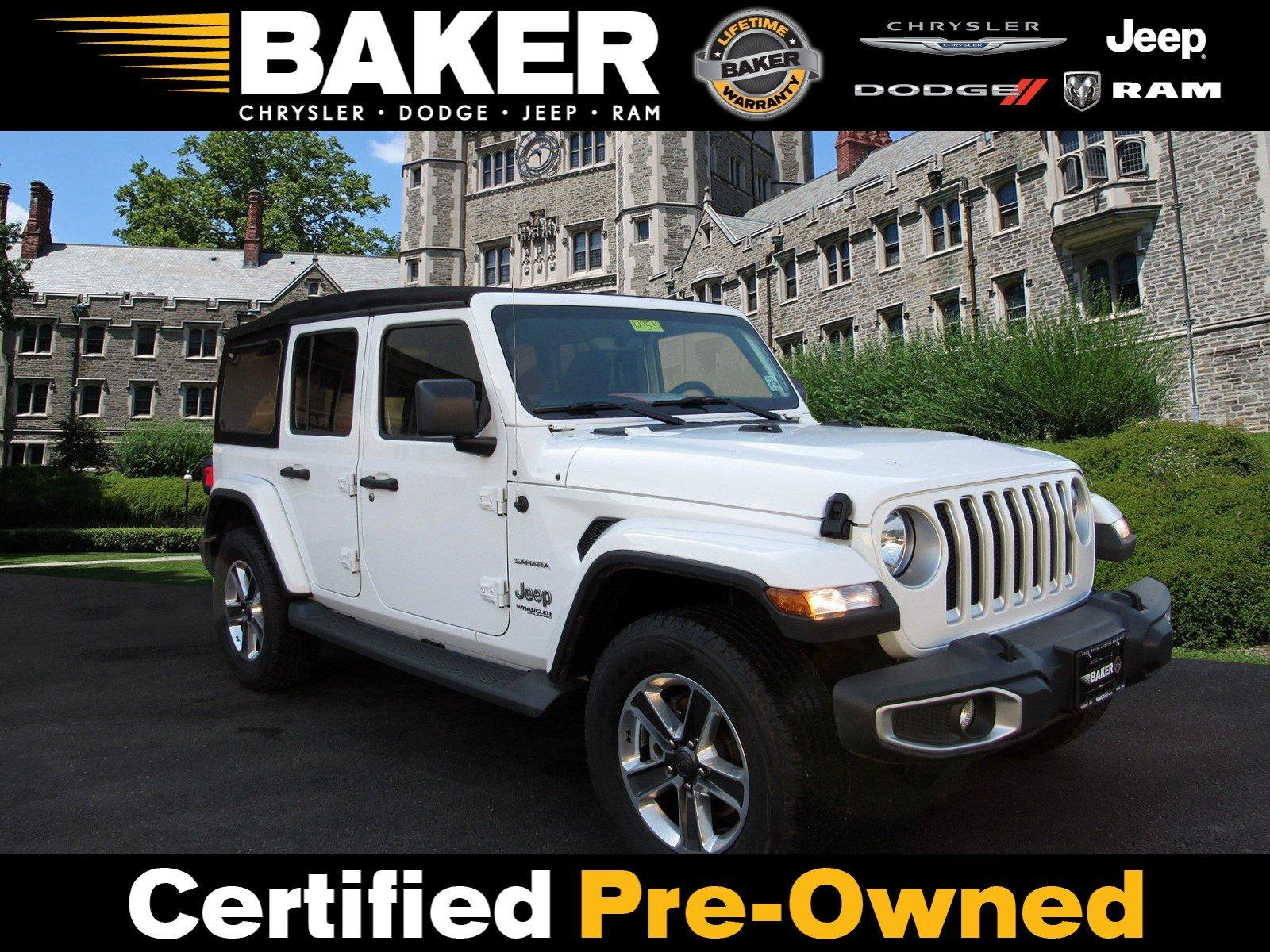 Used 2018 Jeep Wrangler Unlimited Sahara for sale $38,995 at Victory Lotus in Princeton NJ 08540 1