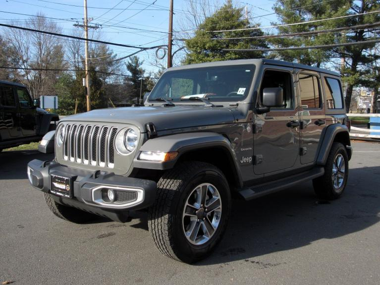 Used 2018 Jeep Wrangler Unlimited Sahara for sale Sold at Victory Lotus in Princeton NJ 08540 4