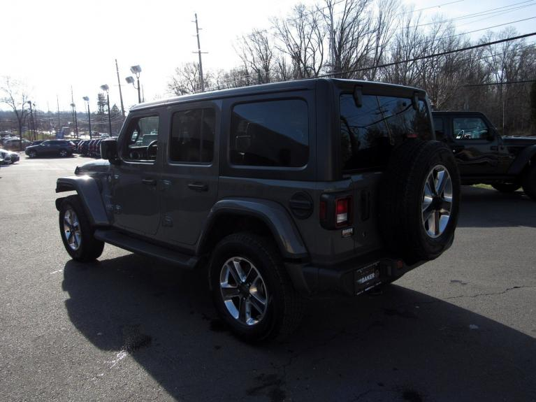 Used 2018 Jeep Wrangler Unlimited Sahara for sale Sold at Victory Lotus in Princeton NJ 08540 5