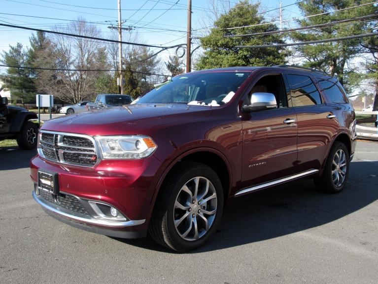 Used 2018 Dodge Durango Citadel Anodized Platinum for sale Sold at Victory Lotus in Princeton NJ 08540 4