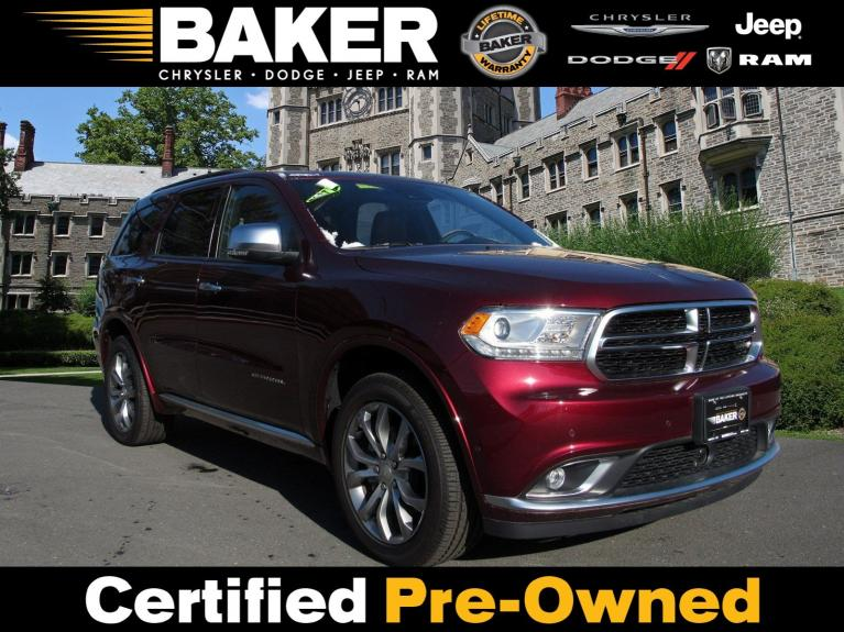 Used 2018 Dodge Durango Citadel Anodized Platinum for sale Sold at Victory Lotus in Princeton NJ 08540 1