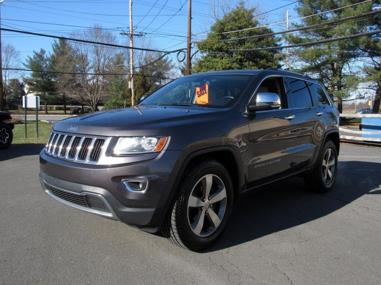 Used 2014 Jeep Grand Cherokee Limited for sale $17,995 at Victory Lotus in Princeton NJ 08540 4