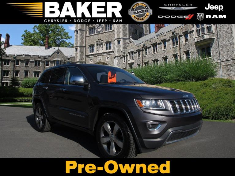 Used 2014 Jeep Grand Cherokee Limited for sale $17,995 at Victory Lotus in Princeton NJ 08540 1