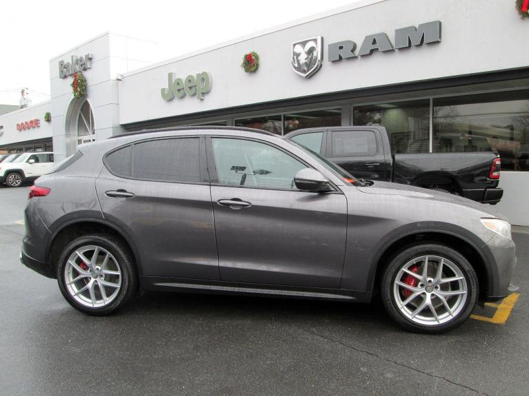 Used 2018 Alfa Romeo Stelvio Sport for sale Sold at Victory Lotus in Princeton NJ 08540 8