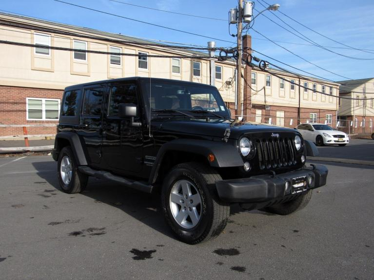 Used 2016 Jeep Wrangler Unlimited Sport for sale $26,995 at Victory Lotus in Princeton NJ 08540 2
