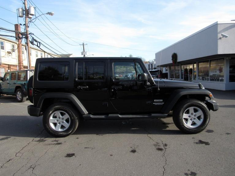 Used 2016 Jeep Wrangler Unlimited Sport for sale $26,995 at Victory Lotus in Princeton NJ 08540 8