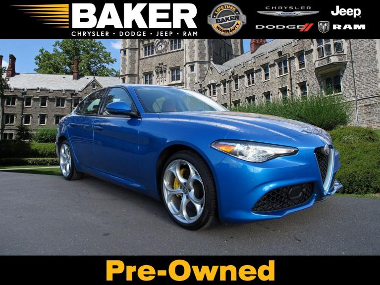 Used 2019 Alfa Romeo Giulia Ti Sport for sale $33,495 at Victory Lotus in Princeton NJ