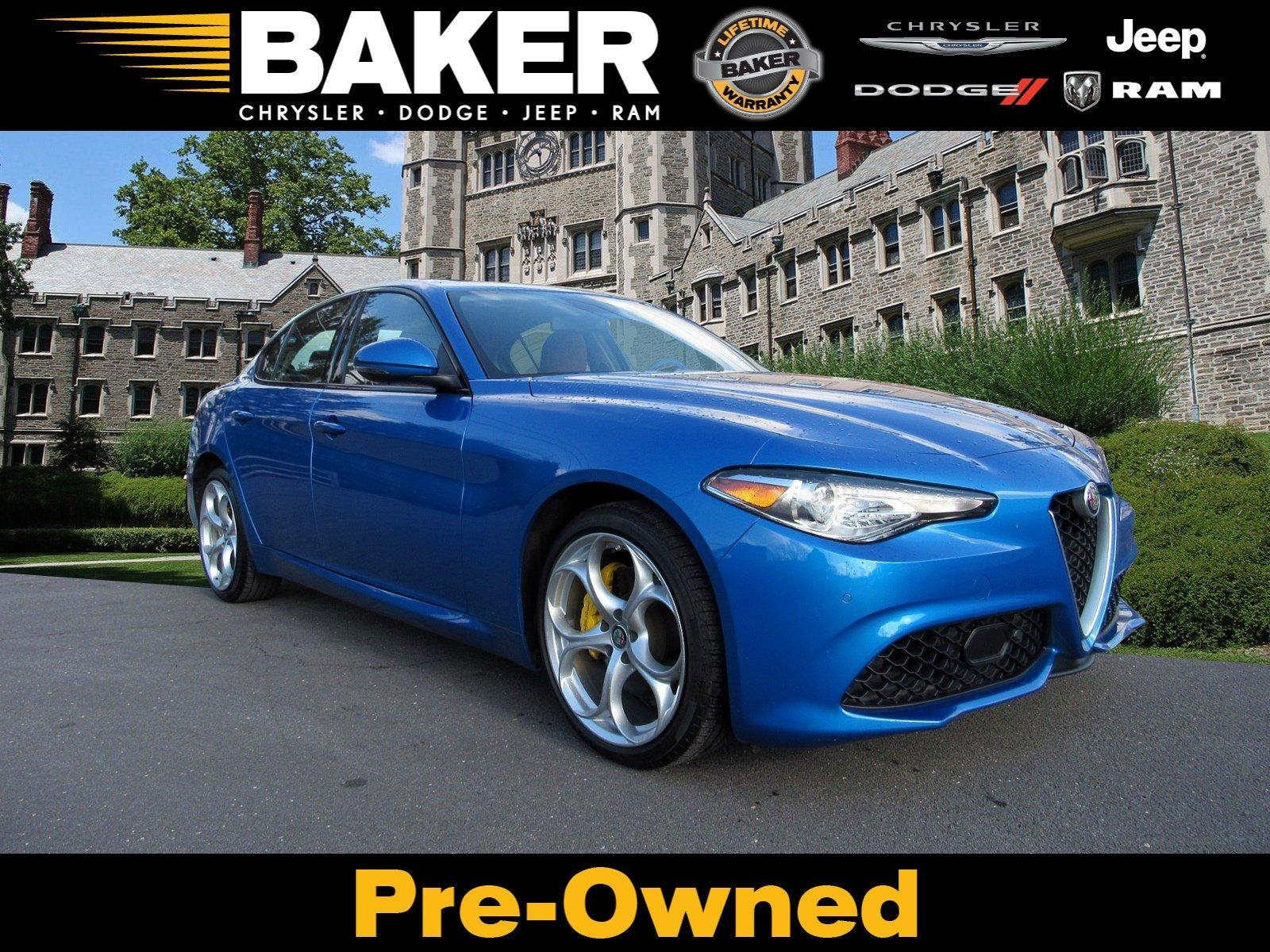 Used 2019 Alfa Romeo Giulia Ti Sport for sale $35,995 at Victory Lotus in Princeton NJ 08540 1