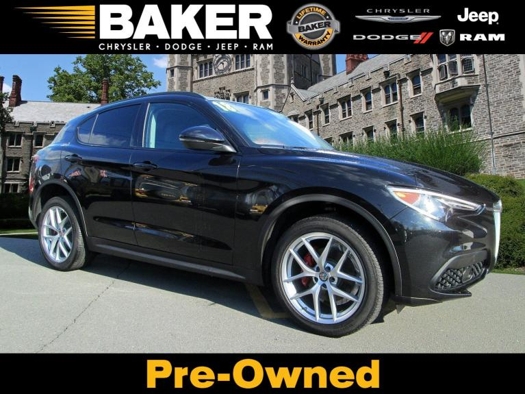 Used 2018 Alfa Romeo Stelvio Sport for sale Sold at Victory Lotus in Princeton NJ 08540 1