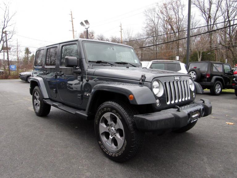 Used 2016 Jeep Wrangler Unlimited Sahara for sale Sold at Victory Lotus in Princeton NJ 08540 2