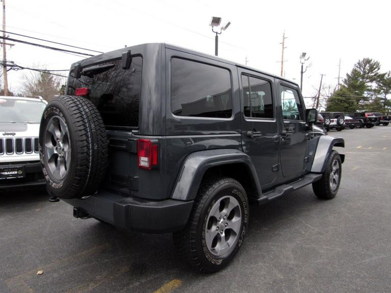 Used 2016 Jeep Wrangler Unlimited Sahara for sale Sold at Victory Lotus in Princeton NJ 08540 7