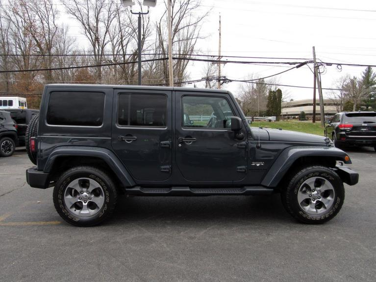 Used 2016 Jeep Wrangler Unlimited Sahara for sale Sold at Victory Lotus in Princeton NJ 08540 8